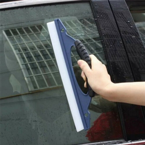 Silicone Car Window Wash Clean Cleaner Wiper Squeegee Drying Blade Shower Kit Kr