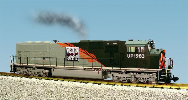clienti prima reputazione prima USA i i i treni G Scale SD70 MAC Diesel Loco UP Heritage R22617 Western Pacific  buona reputazione