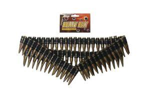 96pc-Plastic-Fake-Bullet-Belt-Soldier-Army-Rambo-Bandit-Fancy-Dress