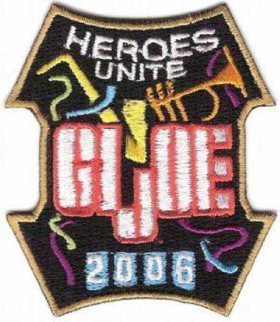 GI JOE 2006 CONVENTION PATCH - JOE17