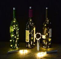 Bottle Lights Cork Shape Lights For Wine Bottle Starry String Lights F... No Tax