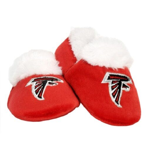Pick team /& size Football Infant Newborn Baby Booties Slippers NEW Shower Gift