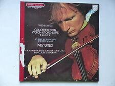WIENIAWSKI cOncertos violon et orchestre 1 & 2 IVRY GITLIS JEAN CLAUDE CASADESUS