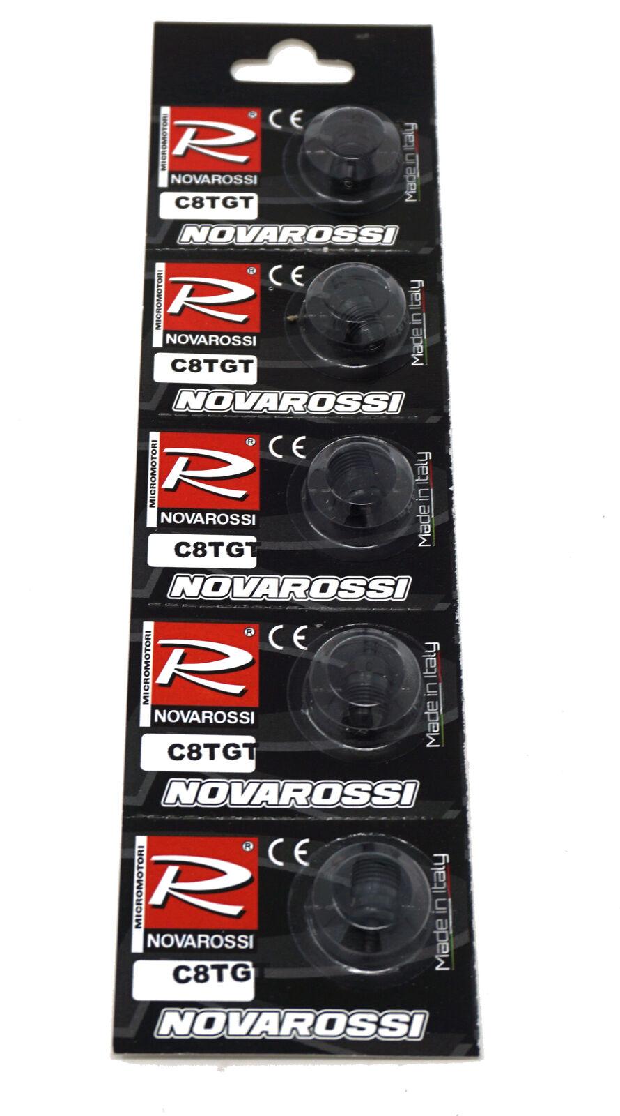 prezzo all'ingrosso Nuovo Novarossi C8TGT Marine Turbo Ambient Glow Plugs (5) gratuito gratuito gratuito US SHIP  Ritorno di 10 giorni