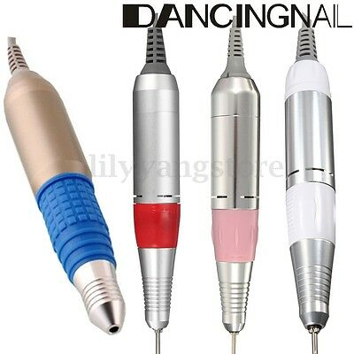 Electric Nail Drill File Set Replacement Handpiece Pen Manicure Pedicure Tool