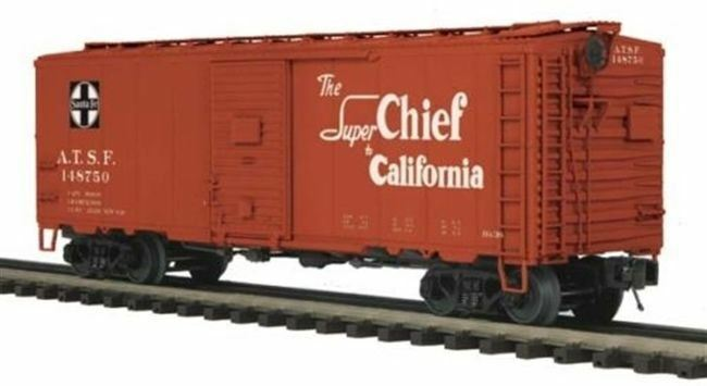 20-93587 MTH Premier 40' AAR Box Car - Santa Fe UNCATALOGED MIB