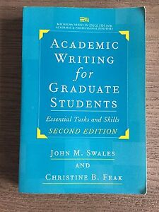 Academic writing for graduate student