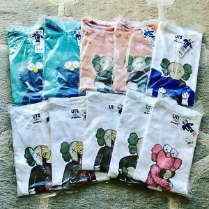 KAWS-UNIQLO-UT-Summer-2019-Collaboration-Companion-BFF-Men-TEE-T-Shirt-In-hand
