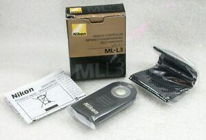 Genuine-NIKON-ML-L3-Remote-Controller-For-Nikon-DSLRs-New-Old-Stock