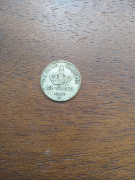 20 Centimes 1866 Atelier A Performance Fiable