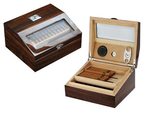Quality-50-CT-Count-Cigar-Humidor-Humidifier-Wooden-Case-Box-Hygrometer-1fiv