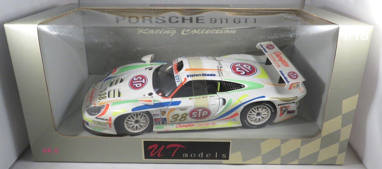 Porsche 911 gt1   38 boutsen wollek champion motoren usrrc mid-ohio 1998 ut 1,18
