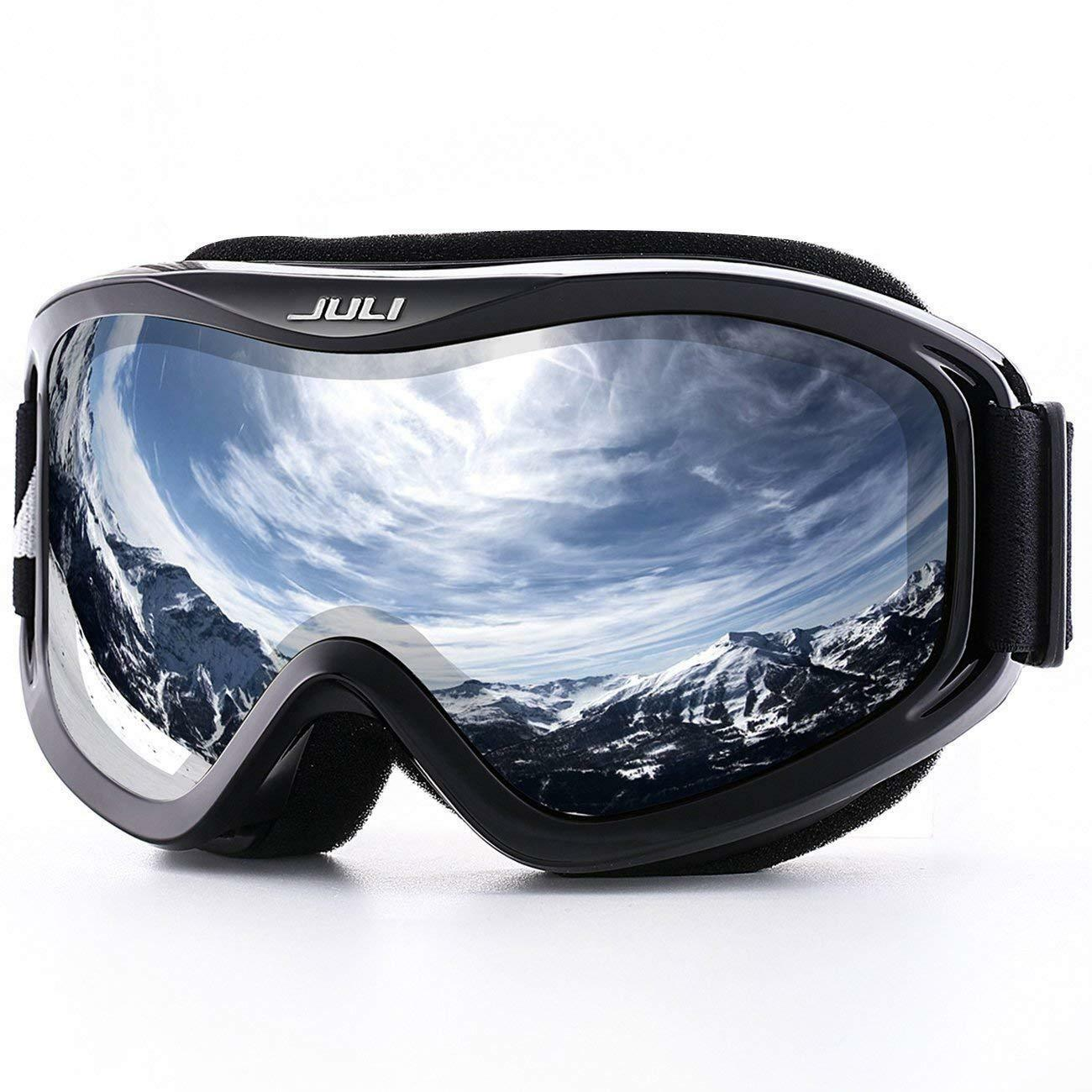 Feier Yusi Adult Professional Ski Goggles Snowmobile Snowboard Skate Snow Skiing Goggles with 100/% UV400 Protection Bright Lens TPC Frame Material Anti Sand Wind /& UV Suitable Hiking Surfing Skiing