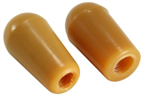 Switch Knob Tip Amber Metric sizes for some Gibson Epiphone and import guitars