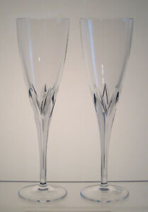 """COROLLE JG Durand Champagne Flutes 9 1/8"""", PAIR, aka MEGEVE TAILLE COROLLE"""