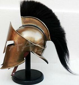 Medieval Armor Spartan Mask Helmet King Leonidas Greek Spartan 300 Roman Helmet