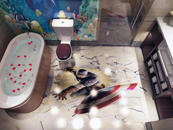 3D Cartoon For Boy 722 Floor WallPaper Murals Wall Print Decal AJ WALL CA Carly