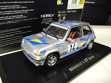 1:18 NOREV Renault 5 Gt Turbo Diac Tour de Corse NEU NEW