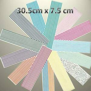 """Creative Memories GREAT LENGTHS BORDER 12/"""" X 3/"""" SPORTS STICKER VARIETY TO PICK"""