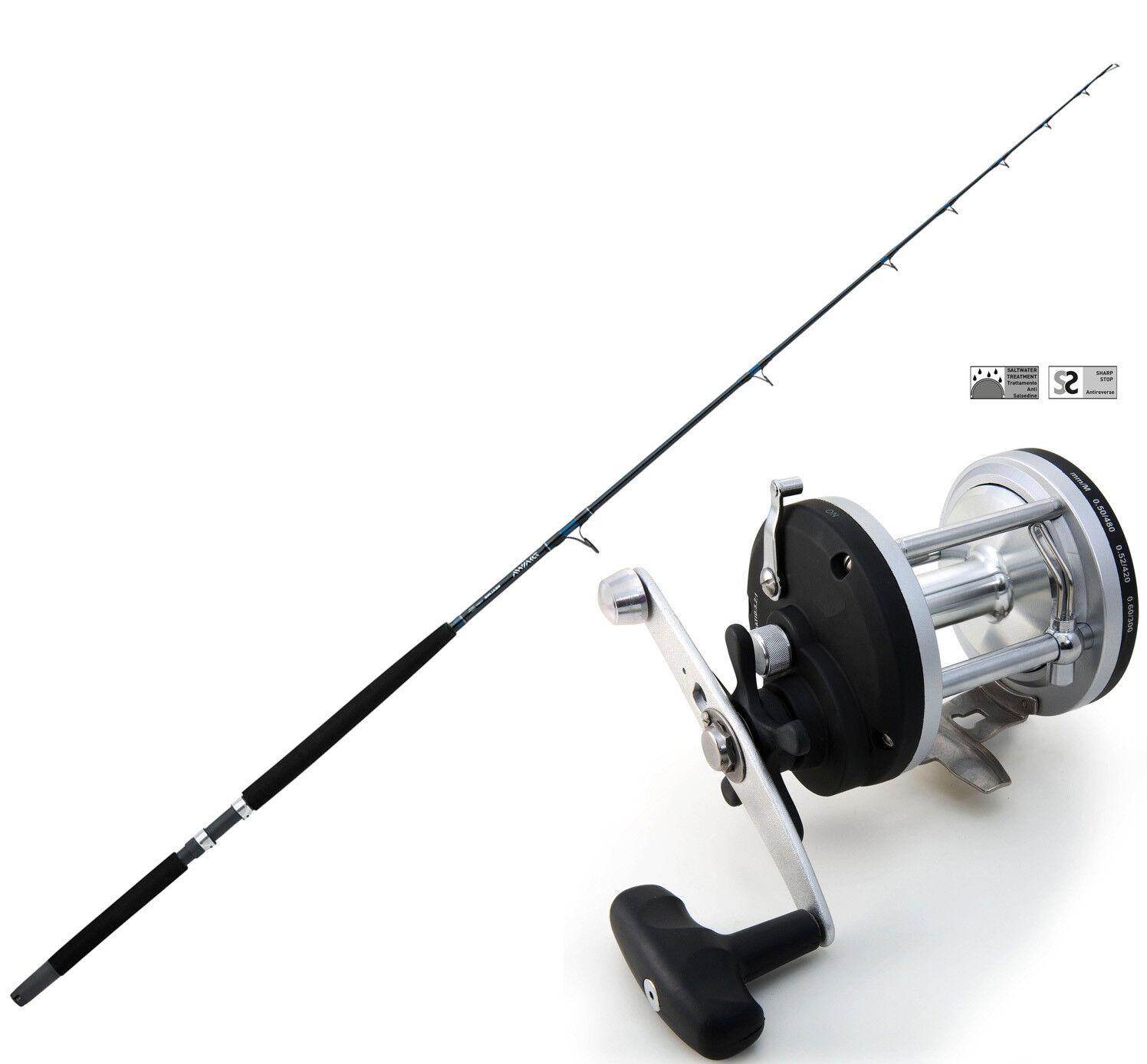 KP3627 Canna Traina Daiwa Sealine  Trolling 15 - 40 Lb Pesca mulinello RNG  el mejor servicio post-venta