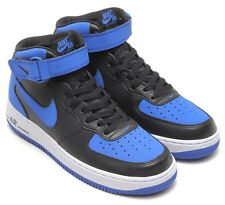 Nike Air Force 1 One Mid '07 Black Royal White 315123 027 Air Jordan Kyrie lot