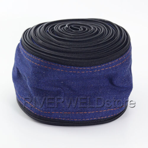 TIG Welding Torch Cable Cover Cowboy Zipper Jacket 7.5 Meter /& 25 Feet Length