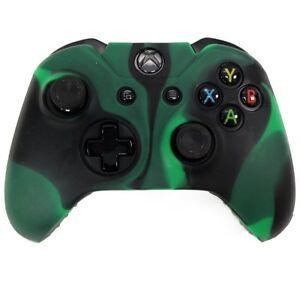 Controlador-de-la-piel-Xbox-ONE-Camo-Funda-Cubierta-de-Silicona-Gel-de-goma-protectora