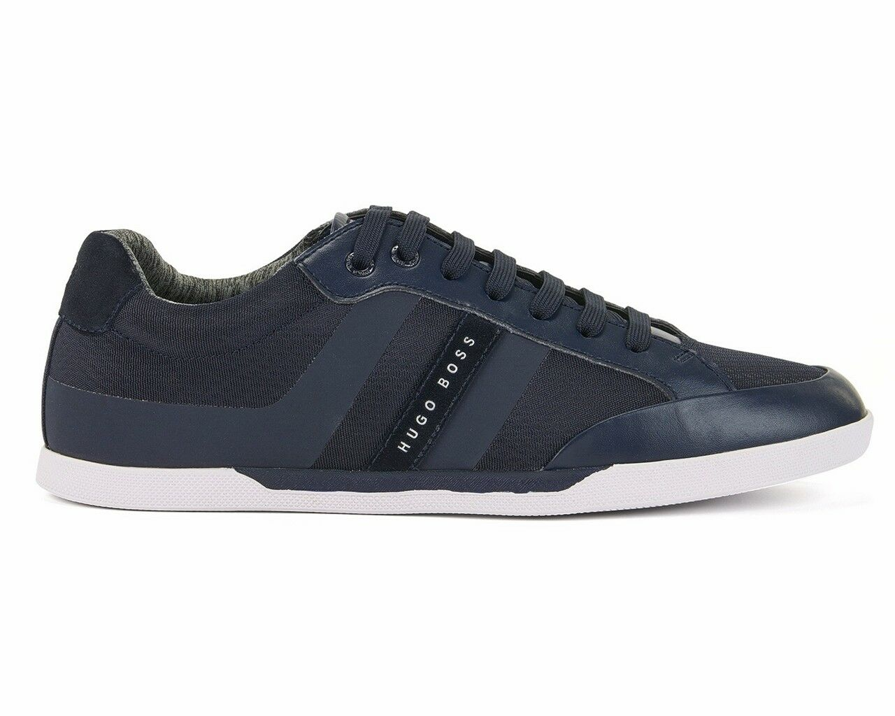 Hugo Boss Green Shuttle Tenn Tech 50379295 401 Mens Trainers Dark Blue
