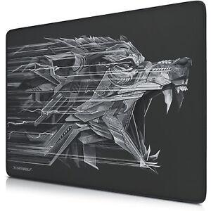 Titanwolf-Gaming-Mauspad-440-x-350-x-3-mm-Tischunterlage-rutschfest-NEU