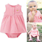 One-pieces Baby Girl Summer Clothes Bodysuit Romper Outfits Sunsuit Dress Skirt