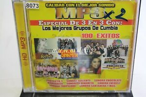 Los-Mejors-Grupos-De-Cumbia-100-Exitos-Music-CD-NEW