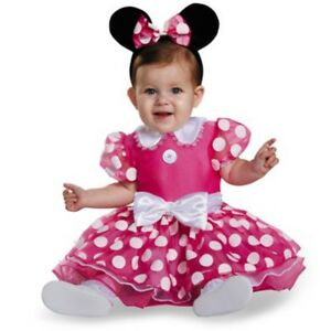 Disney Minnie Mouse Maus Baby Kinder Fasching Halloween Karneval