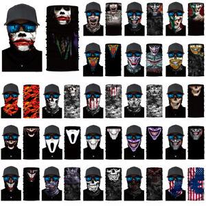 Skull-Cycling-Motorcycle-Head-Scarf-Neck-Warmer-Face-Mask-Ski-Balaclava-Headband