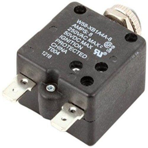 Robot Coupe R286 W58-XB1A4A-8 R2B R2N Food Processor 8 Amp Circuit Breaker