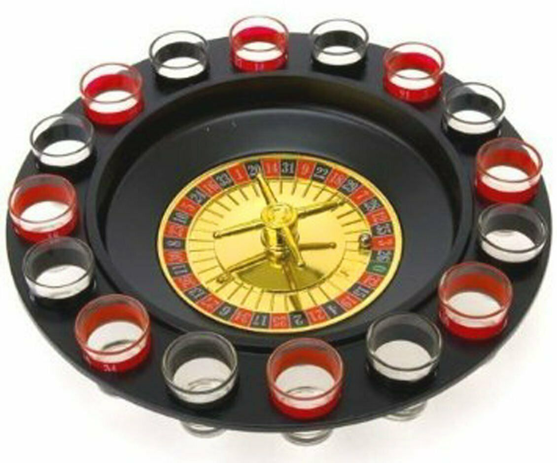 How to play shot roulette casino drinking game