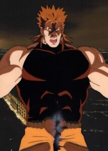 Jojo-039-s-Bizarre-Adventure-Anime-Cel-Copy-BG-Oversized-Animation-Art-Dio-1993-OVA