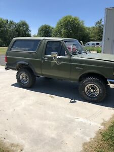 1987 Ford Bronco *reduced*