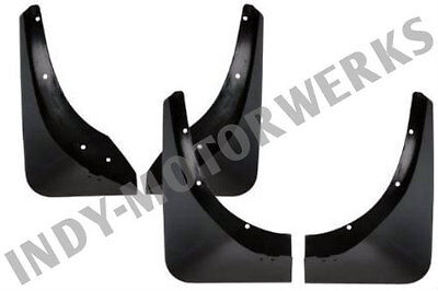 C4 91-96 CORVETTE FRONT ALTEC FENDER GUARDS BOTH LEFT AND RIGHT SIDES MUD FLAPS