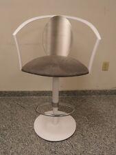"MODERN TULIP DESIGN BAR CHAIR STOOL by ""ELITE MANUFAC. "" USA * S. STEEL FRAME"
