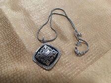 Brighton~ Pebble Pave Crystal Gun Metal Bracelet ~jb5162 ~free Ship~ Nwt $86 Outstanding Features Fashion Jewelry