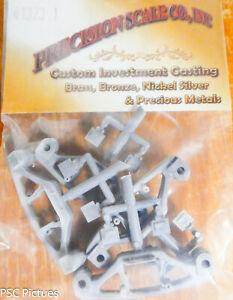 Precision-Escala-o-41373-1-Sideframe-Aar-70-Tonelada-Plastico-Partes