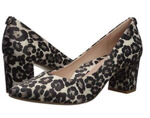 cadabba968 Image is loading New-Womens-TARYN-ROSE-Madline-Printed-Leopard-Pumps-