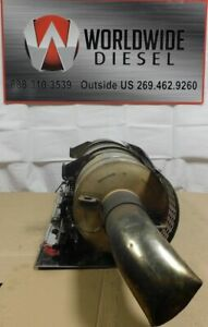 2009-Cummins-ISL-Diesel-Engine-DPF-Filter-Good-Used-Filter
