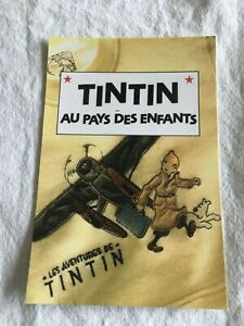 CARTE-POSTALE-TINTIN-HOMMAGE-A-HERGE-PASTICHE