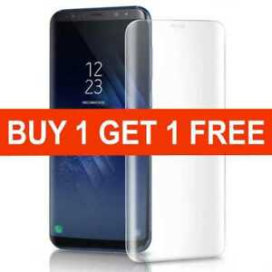 Screen-protector-for-samsung-galaxy-s9-clear-tempered-glass-curved-full-cover