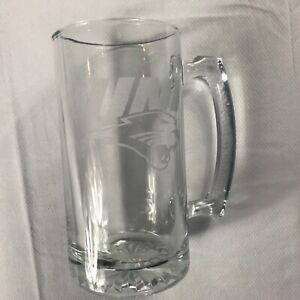 Northern-Iowa-Glass-Stein-Large-Heavy-Beer-Mug-Drink-Student-Alumni-UNI-Panthers