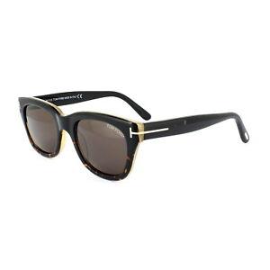 12da3f0528f Tom Ford Sunglasses 0237 Snowdon 05J Black   Havana Roviex Grey ...