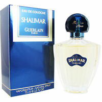 Shalimar For Women By Guerlain 75 Ml Edc Eau De Cologne Brand & Sealed