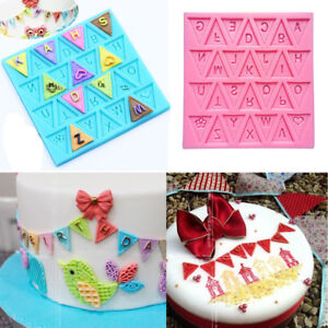 Silicone-Fondant-Letter-Bunting-Flag-Mould-Cake-Sugarcraft-Decorating-Mould