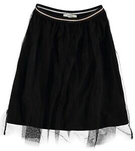Girls School Uniform Box pieghettato elastico in vita gonna Scuola Bambini Tutte Le Età